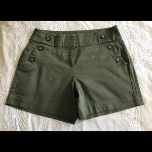 White House Black Market Size 00 Shorts